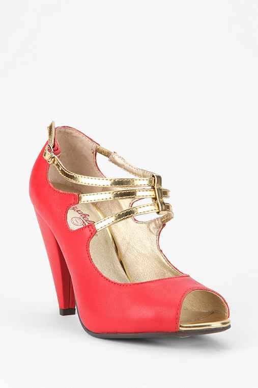 Seychelles Heart Grows Peep-Toe Heel