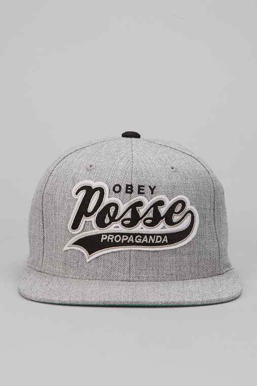 OBEY On Deck Snapback Hat
