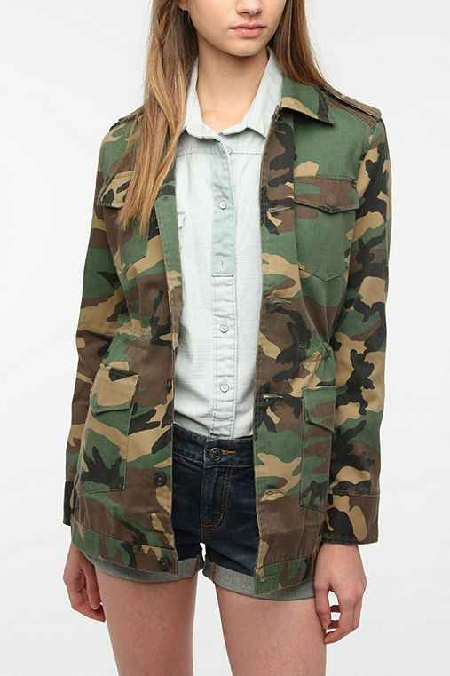 byCORPUS Camo Surplus Jacket