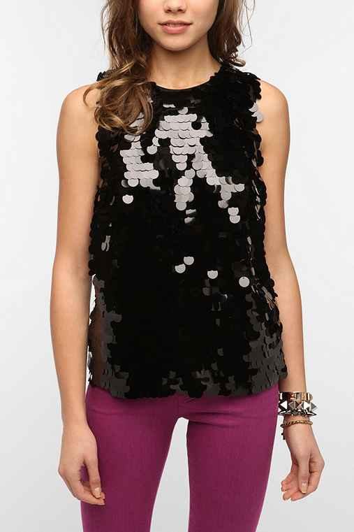 DV By Dolce Vita Amani Sequin Tank Top