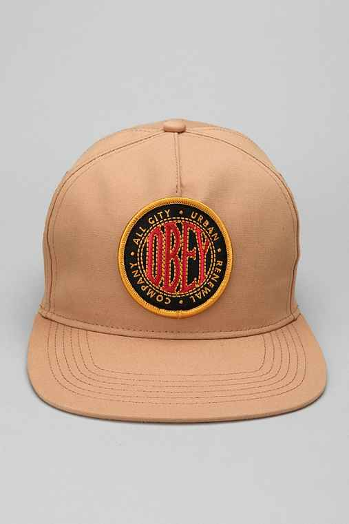 OBEY Trade Snapback Hat