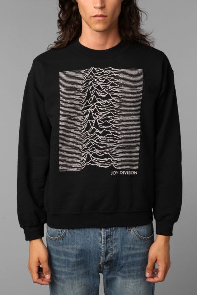 Joy Division Unknown Pleasures Crew Sweatshirt