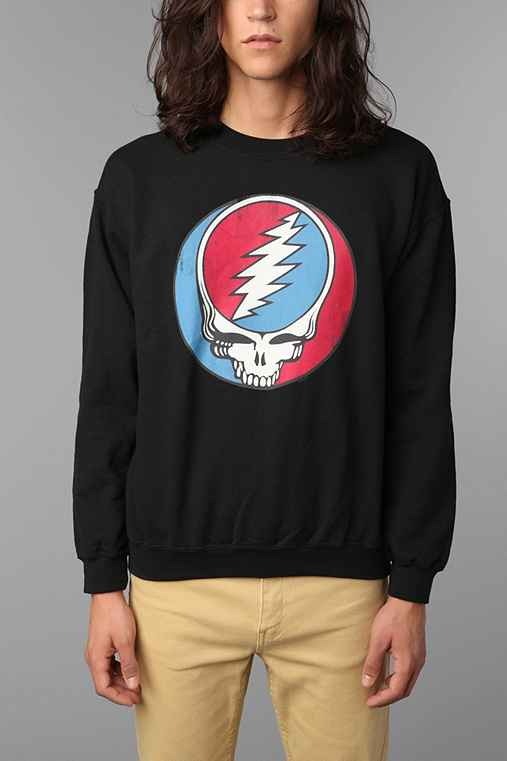 Grateful Dead Logo Crew Sweatshirt