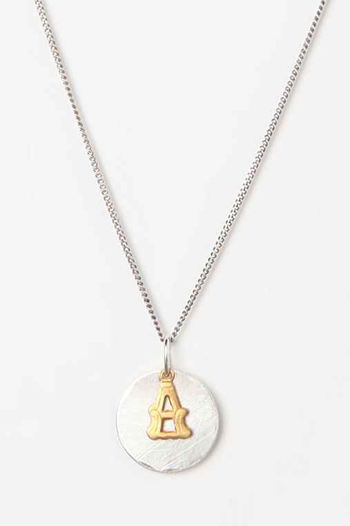 Bing Bang Initial Charm Necklace