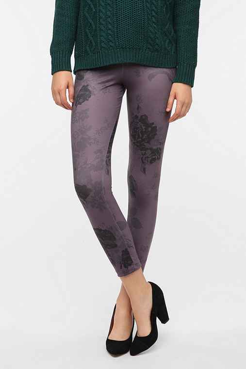 BDG Floral Shadow High-Rise Legging