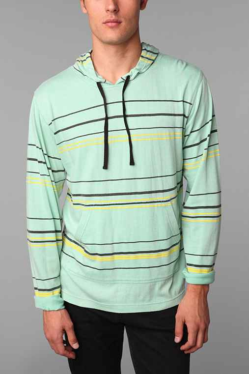 Brooklyn Cloth Washed Stripe Hoodie