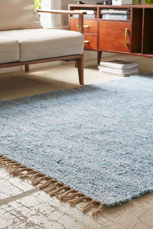 Vernick Berber Rug,BLUE MULTI,5X7