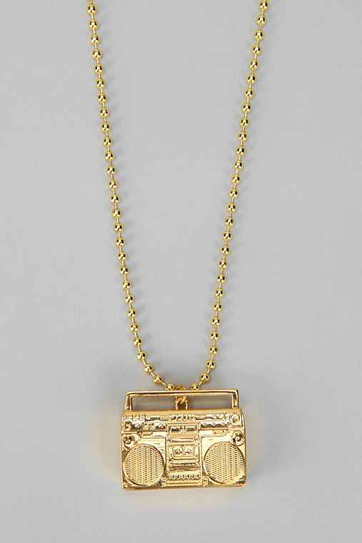 Flud Boombox Necklace