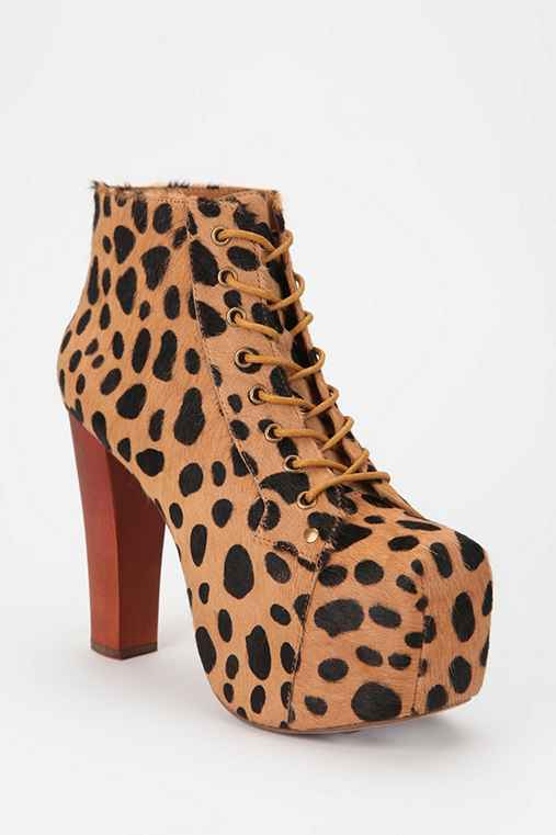 Jeffrey Campbell Printed Pony Hair Lita Boot