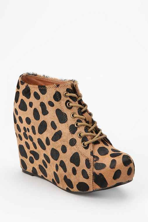 Jeffrey Campbell Pony Hair 99 Tie Wedge