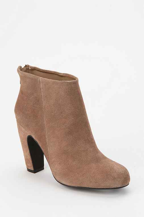 Kimchi Blue Suede U-Heel Ankle Boot