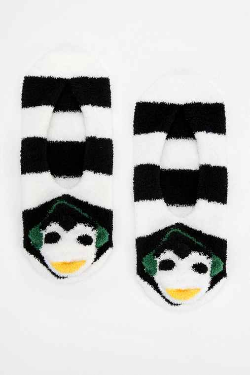 Penguin Slipper-Sock