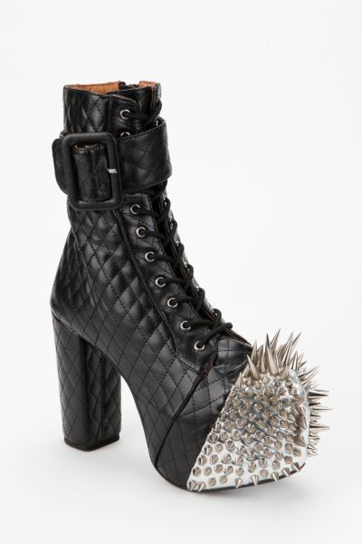 Jeffrey Campbell Scotty Spike Leather Boot