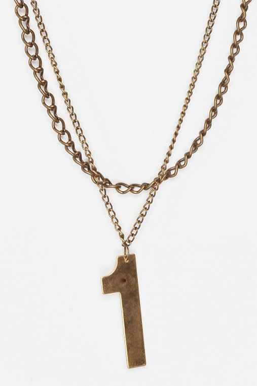 (of)Matter for Urban Renewal Lucky Number Necklace