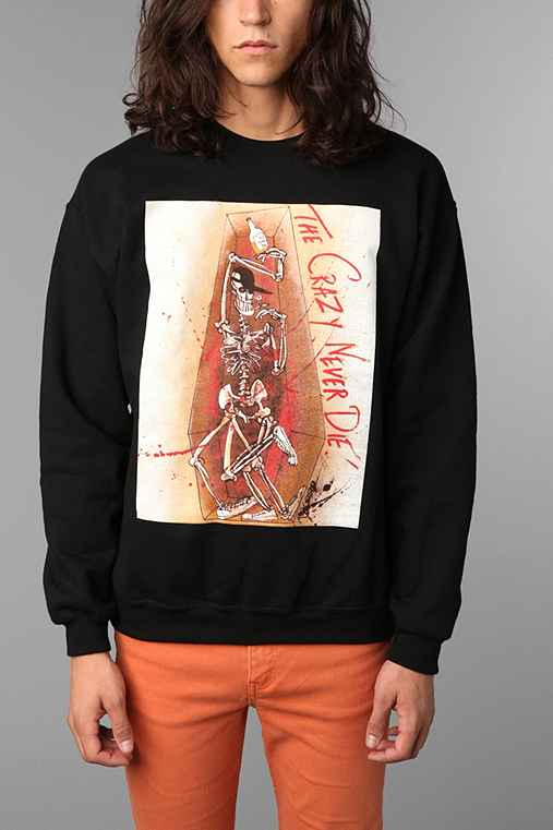 The Crazy Never Die Crew Sweatshirt