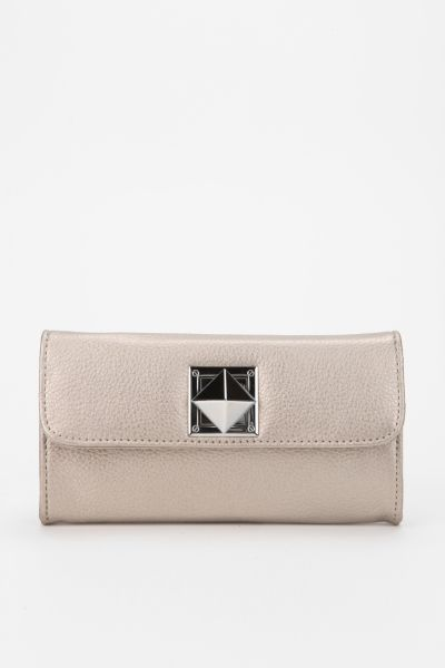 Deena & Ozzy Pyramid-Lock Checkbook Wallet