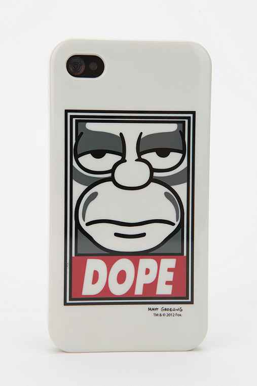 Shepard Fairey X The Simpsons Dope iPhone 4/4s Case
