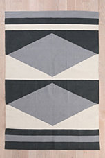 Assembly Home Mirrored Diamond Rug