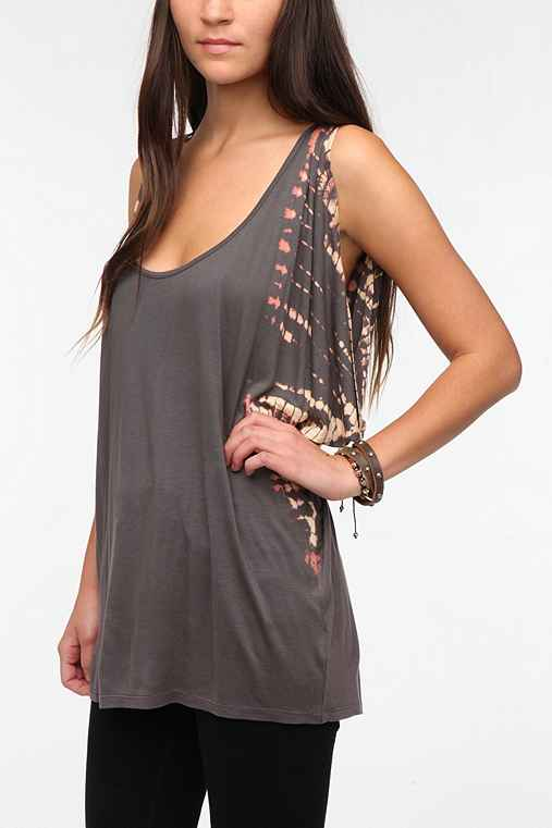 Staring at Stars Oversized Drapey Tank Top