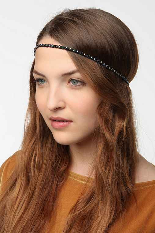 Delicate Embellished Headwrap