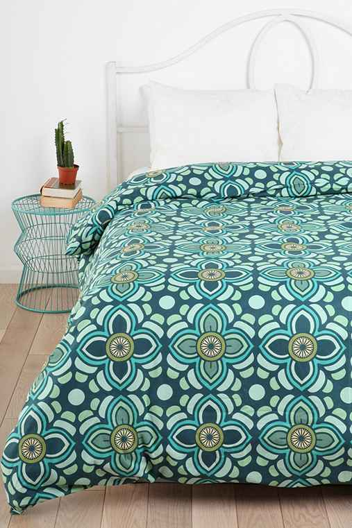Magical Thinking Lotus Medallion Duvet Cover