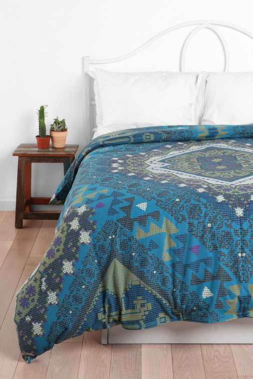 Magical Thinking Kilim Medallion Duvet Cover