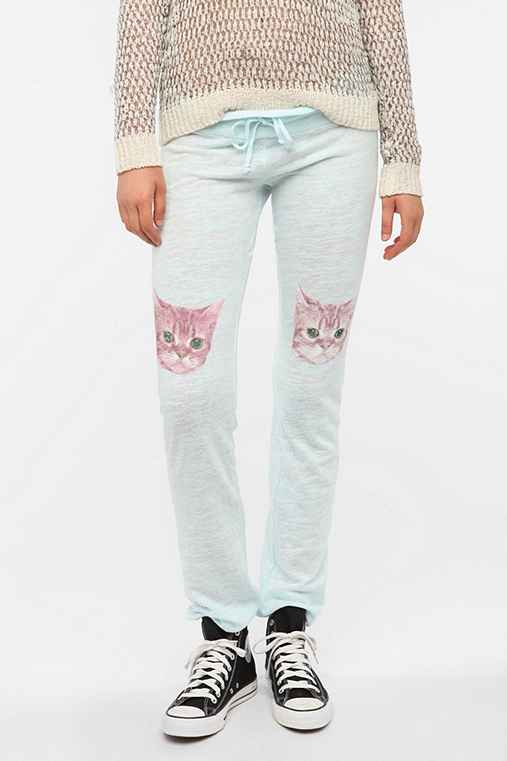 Wildfox Couture Party Cat Lounge Pant