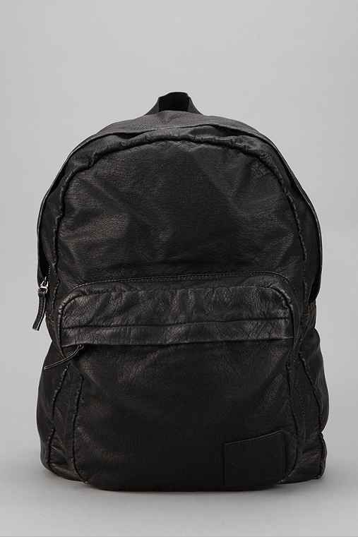 O'Hanlon Mills Faux Leather Backpack