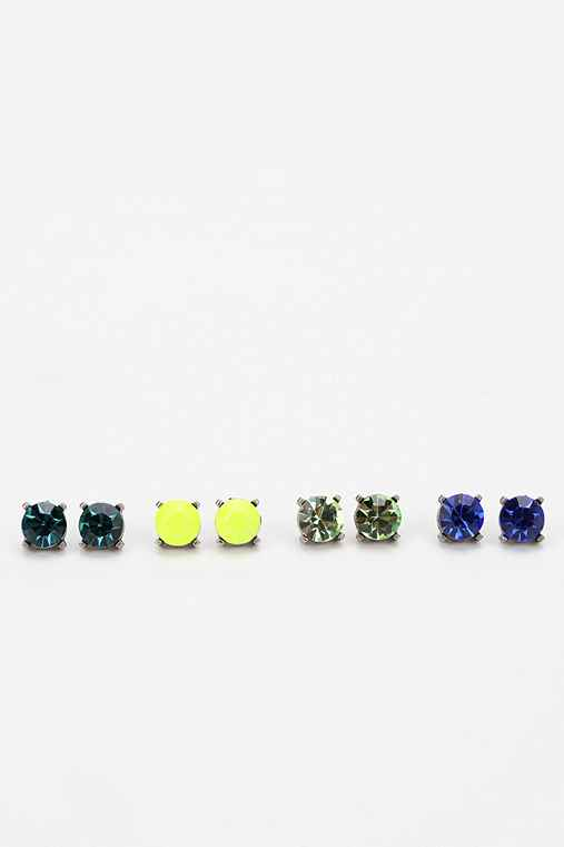 Ombre Stud Earring Set