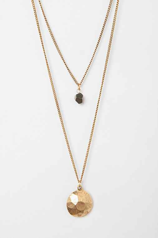 Vail Hammered Necklace