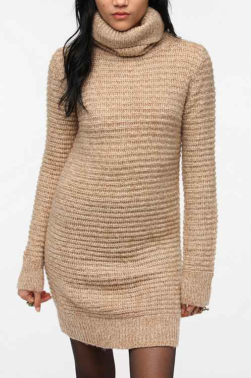 Pins and Needles Cowl Neck Sweater Dress