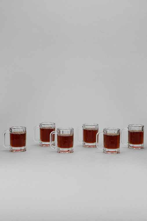 Beer Stein Shot Glass - Set Of 6