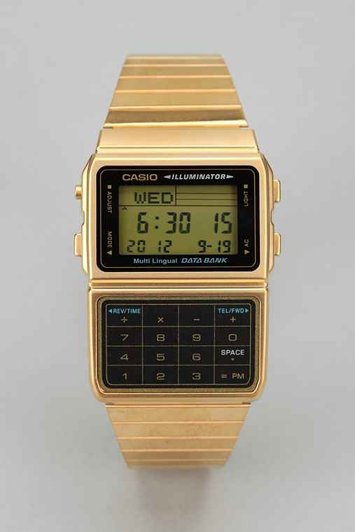 Casio Databank Metal Watch