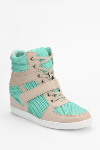 Deena & Ozzy Mesh High-Top Sneaker