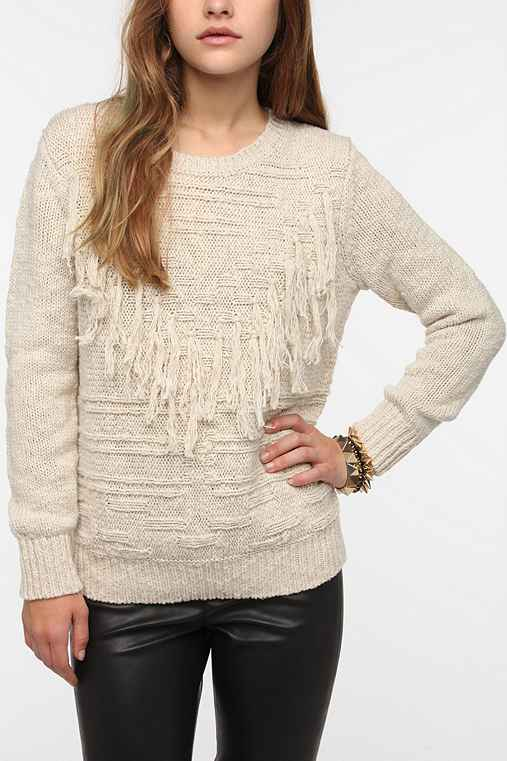 Staring at Stars Fringe Sweater