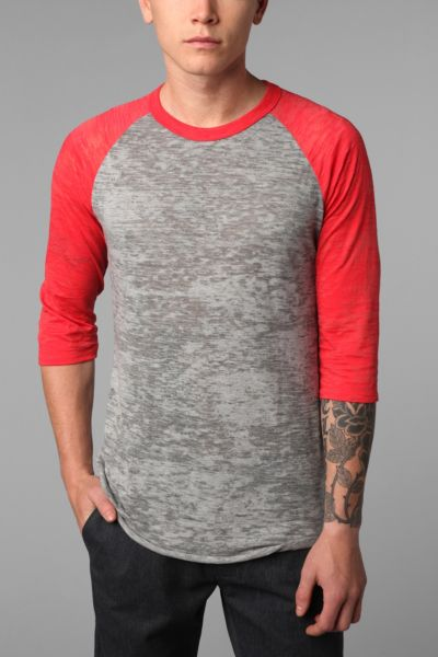 Alternative Burnout Raglan Tee