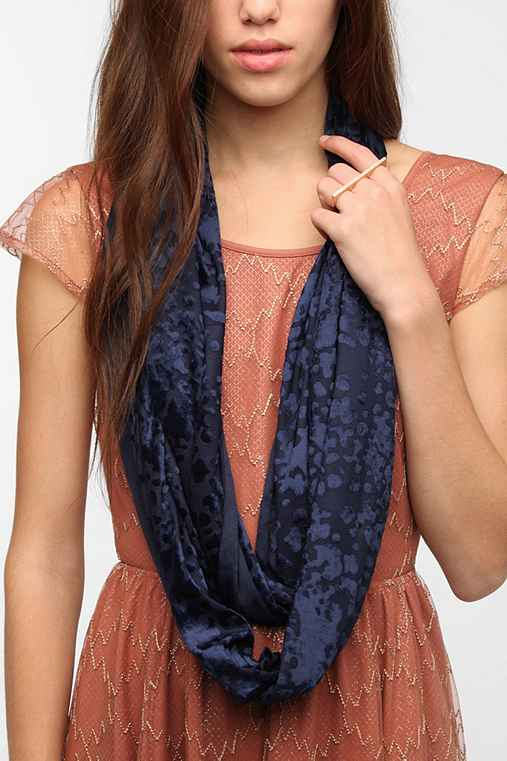 Urban Renewal Burnout Velvet Eternity Scarf