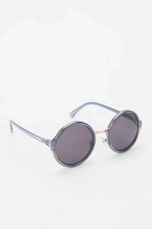 Blue Jeans Round Sunglasses