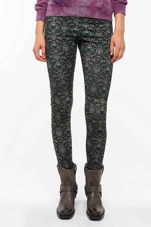Truly Madly Deeply Paisley Fox Legging