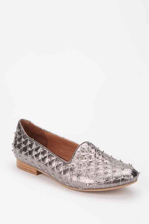 Jeffrey Campbell Elegant Quilted Loafer