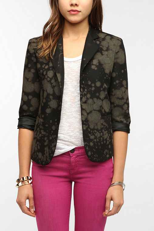 Urban Renewal Bleach Splatter Boys' Blazer