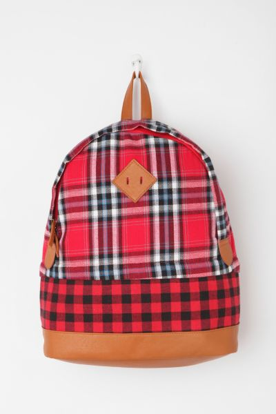 BDG Plaid Woods Backpack