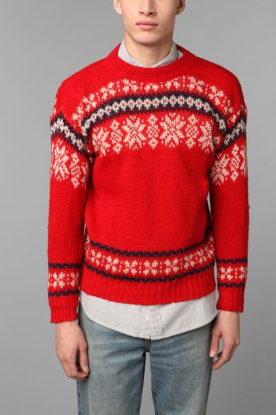 Urban Renewal Vintage Fair Isle Sweater