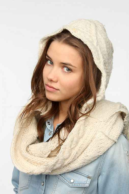 Urban Renewal Hooded Fisherman Scarf