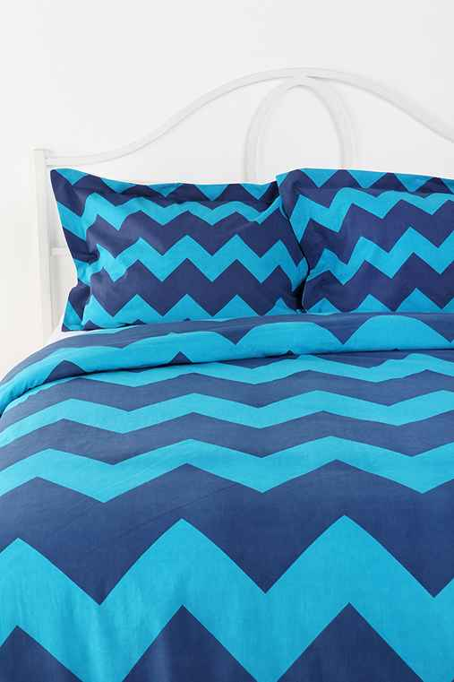 Tonal Zigzag Sham - Set Of 2