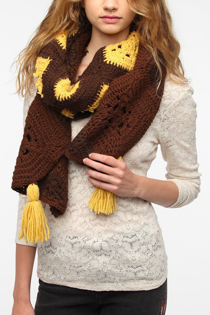 renewal afghan fringe scarf outfitters