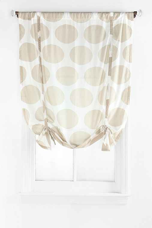 Magical Thinking Giant Dot Draped Shade Curtain
