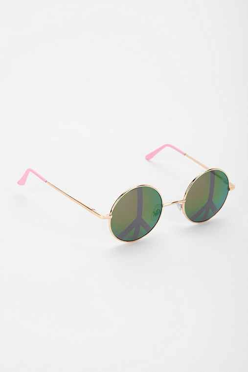 Fast Love Round Sunglasses