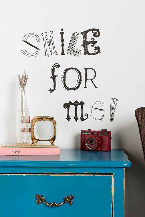 Hand-Drawn Letter Wall Decal
