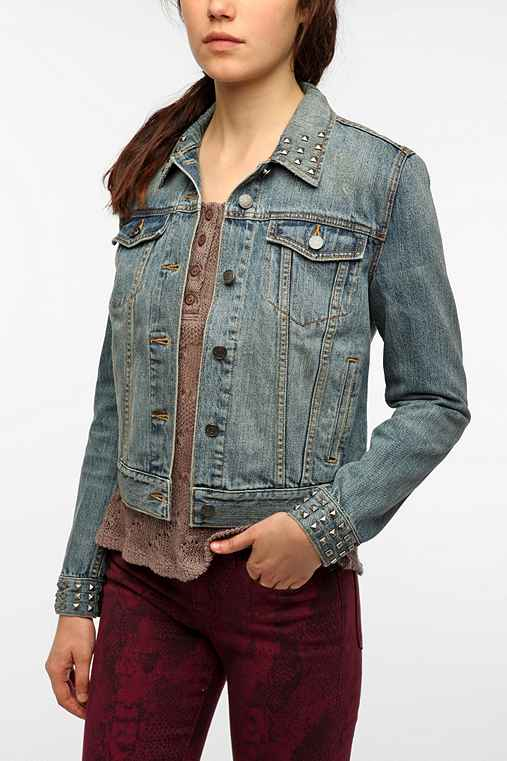 BDG Studded Denim Jacket